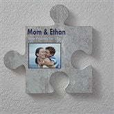Name & Photo Personalized Wall Puzzle Décor -Brick & Stone Textures - 18366