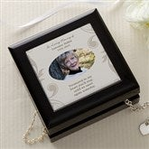 In Loving Memory Personalized Photo Jewelry Box - 18371