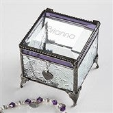 Classic Celebrations Vintage Personalized Name Jewelry Box - 18372-N