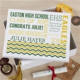 School Memories Personalized Keepsake Box - 18393