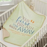 You Took Our Breath Away Personalized Sherpa Blanket - 18404