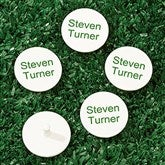 You Name It Personalized Golf Marker Set - 18409