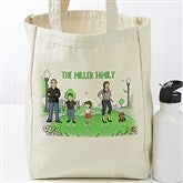 Character Collection Personalized Petite Canvas Tote Bag - 18413