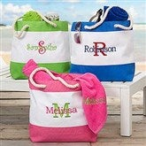 All About Me Embroidered Beach Tote - 18420