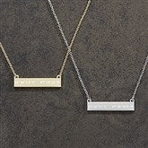 Coordinate Personalized Nameplate Necklace - 18433