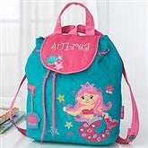 Mermaid Embroidered Kid's Backpack by Stephen Joseph - 18442
