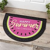Simply Summer Personalized Half Round Doormat - 18447