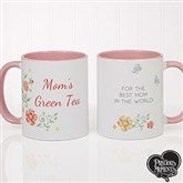 Precious Moments® Floral Personalized Coffee Mug 11 oz.- Pink - 18471-P