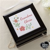 Precious Moments® Floral Personalized Jewelry Box - 18475