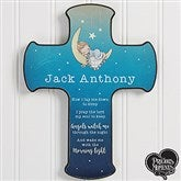 Precious Moments® Personalized Bedtime Prayer Cross - 18476