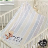 Precious Moments® Bless This Child Personalized Fleece Blanket - 18478