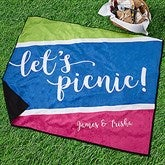 Summer's Here Personalized Picnic Blanket - 18488