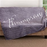 Together Forever Personalized 60x80 Fleece Blanket - 18490-L