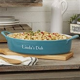 Personalized Classic Oval Baking Dish - 18497-O