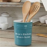Personalized Classic Utensil Holder - 18497-U