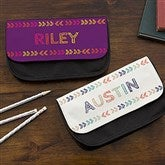 Stencil Name Personalized Pencil Case - 18508