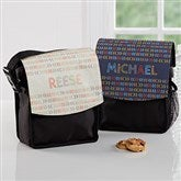 Stencil Name Personalized Lunch Bag - 18509