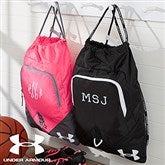 Under Armour® Embroidered Drawstring Bag- Monogram - 18540-M