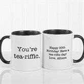 Expressions Personalized Coffee Mug 11 oz.- Black - 18543-B