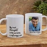 Loving Memory Memorial Personalized Photo Coffee Mug 11 oz.- White - 18545-W