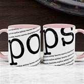 Our Special Guy Personalized Coffee Mug 11 oz.- Pink - 18551-P