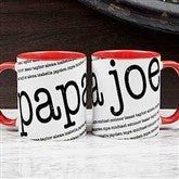 Our Special Guy Personalized Coffee Mug 11 oz.- Red - 18551-R