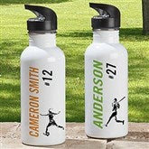 Sports Enthusiast Personalized 20 Sports Water Bottle - 18552