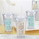Bride Tribe Personalized Wedding Insulated Tumbler - 18556-T