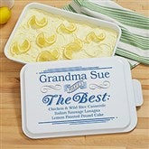 She Makes The Best... Personalized Cake Pan - 18561