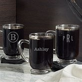 Classic Celebrations Personalized Glass Coffee Mug - 18563