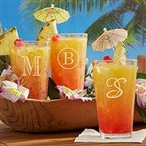 Classic Celebrations Engraved 16oz. Pint Glass- Monogram - 18565-M