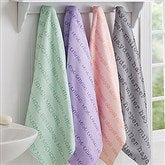 Playful Name Personalized Bath Towel - 18568