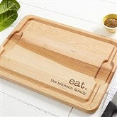 Kitchen Expressions Personalized Maple Cutting Board- 12x17 - 18599