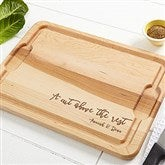 Kitchen Expressions Personalized Extra Large Cutting Board- 15x21 - 18599-XL