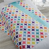 Geometric Personalized 60x80 Fleece Blanket - 18613-L