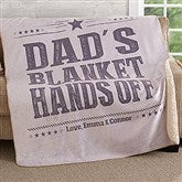 Write His Own Personalized Premium 60x80 Sherpa Blanket - 18629-L