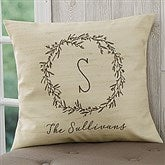 Farmhouse Floral Personalized 18