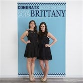School Memories Personalized Graduation Photo Backdrop - 18658