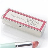 Curly Monogram Engraved Lipstick Case - 18700