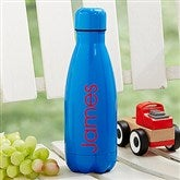Kids' Stainless Steel Personalized Water Bottle- Blueberry - 18701-B
