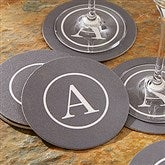Classic Celebrations Personalized Paper Coasters- Monogram - 18702-M