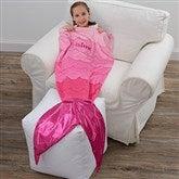 Mermaid Tail Personalized Blanket