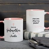 Godparent Personalized Coffee Mug 11 oz.- Pink - 18713-P