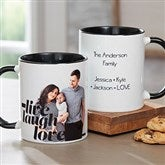 Photo Expressions Personalized Coffee Mug 11 oz.- Black - 18714-B