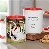 Photo Expressions Personalized Coffee Mug 11 oz.- Red - 18714-R