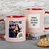 Favorite Memories Personalized Message Coffee Mug 11 oz.- Red - 18719-R