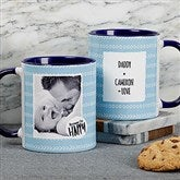 Favorite Memories Personalized Message Coffee Mug 11 oz.- Blue - 18719-BL