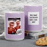 Favorite Memories Personalized Message Coffee Mug 15 oz.- White - 18719-L