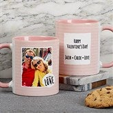 Favorite Memories Personalized Message Coffee Mug 11 oz.- Pink - 18719-P