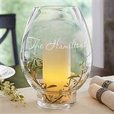 Classic Celebrations Engraved Hurricane Candle Holder- Name - 18741-N